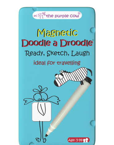 Gra magnetyczna The Purple Cow - Doodle a Droodle