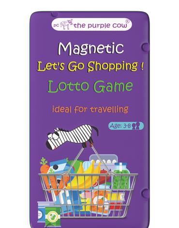 Gra magnetyczna The Purple Cow - Lotto