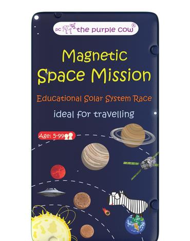 Gra magnetyczna The Purple Cow - Kosmiczna misja
