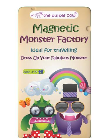 Gra magnetyczna The Purple Cow - Fabryka Potworów