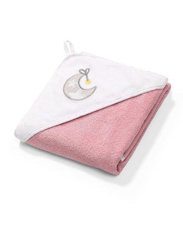 BABYONO - 141/10 Okrycie kąpielowe frotte - ręcznik z kapturkiem 76x76cm