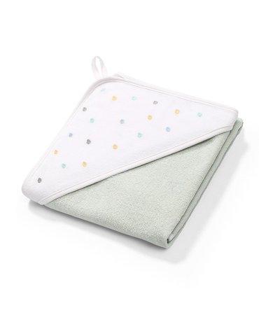 BABYONO - 141/11 Okrycie kąpielowe frotte - ręcznik z kapturkiem 76x76cm