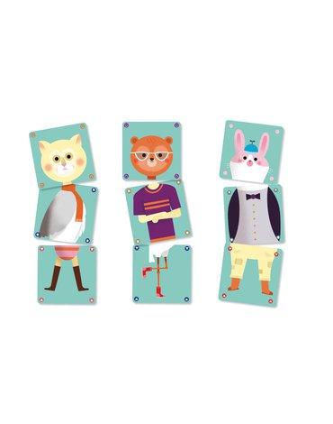Djeco - Gra karciana dla maluchów Animomix DJ05146