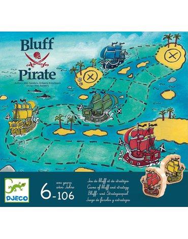 """Djeco - Gra """"zabawa i blef"""" Bluff Pirate DJ08417"""