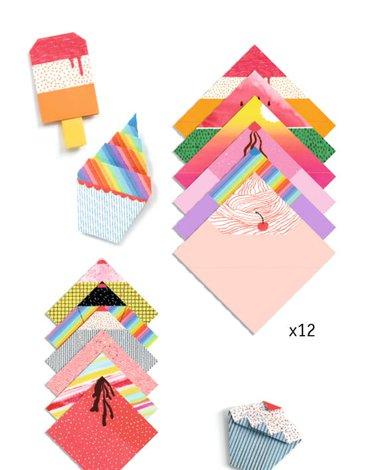 Djeco - Origami słodkie smakołyki DJ08756