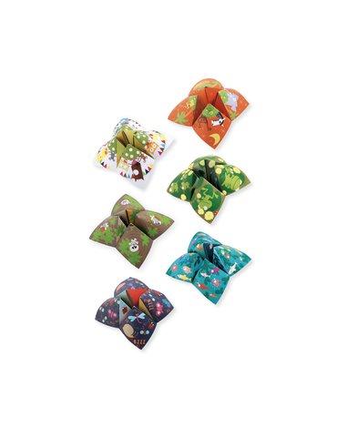 Djeco - Origami PRZEPOWIEDNIA - ZWIERZĘTA DJ08764