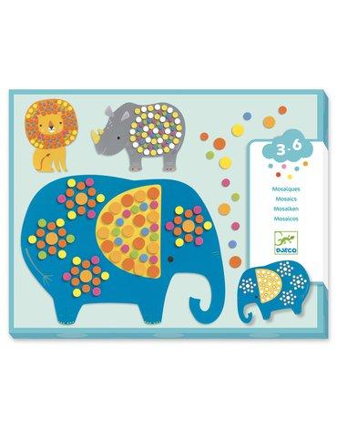 Djeco - Mozaiki dla maluchów DŻUNGLA DJ09097