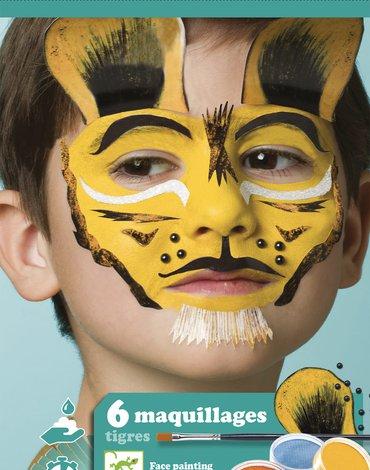 Djeco - Zestaw do malowania twarzy TYGRYS DJ09203