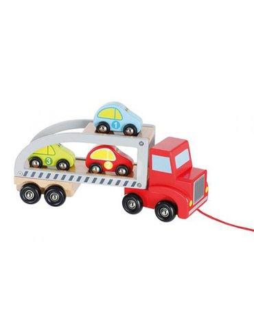 Joueco - Drewniany auto transporter