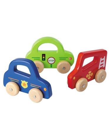 Joueco - Drewniane auto red