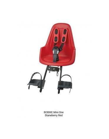 Fotelik row. Bobike ONE mini strawberry red
