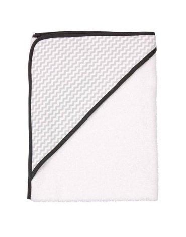 Ręcznik kąpielowy z kapturem LUMA Mixed White