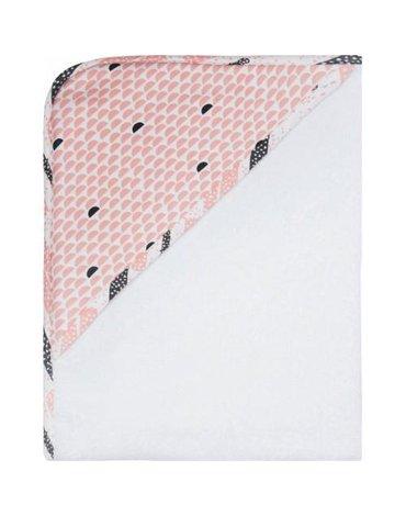Ręcznik kąpielowy z kapturem LUMA Peach Moon