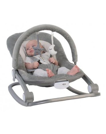 Bo Jungle - B-Rocker Bujaczek 0-18kg Grey