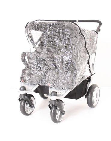Kees - Folia przeciwdeszczowa na wózek typu Twin