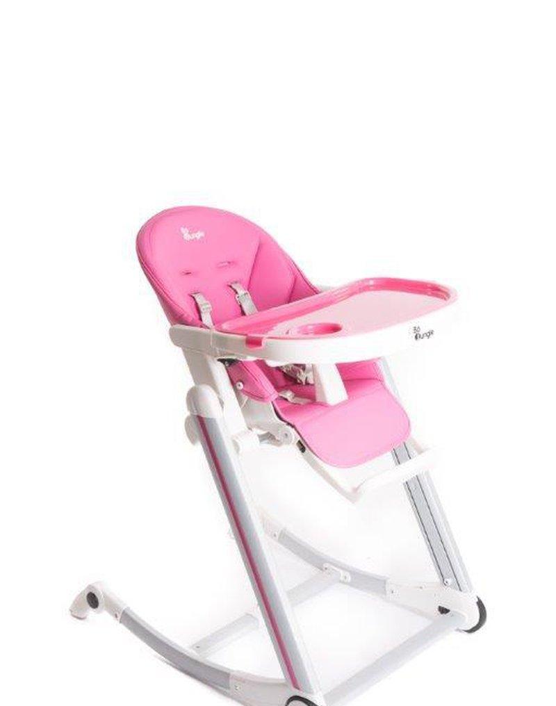 Bo Jungle - B-Krzesełko do karmienia Pink
