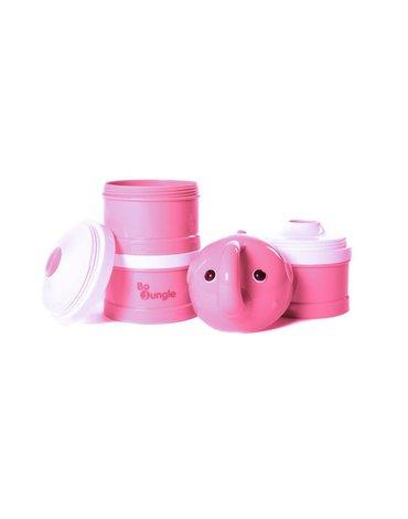 Bo Jungle - B-Pojemnik na mleko Pink Elephant