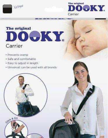 Pas do przenoszenia fotelika Dooky Grey Star