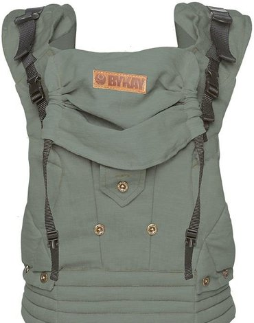 BYKAY - Nosidełko 4 Way Click Carrier Minty Grey