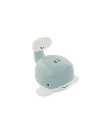 Bo Jungle - B-Nocnik wieloryb pastel Blue mint