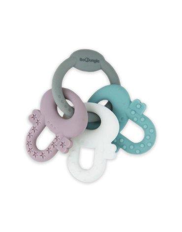 Bo Jungle - B-Gryzak silikonowy pastelowe klucze
