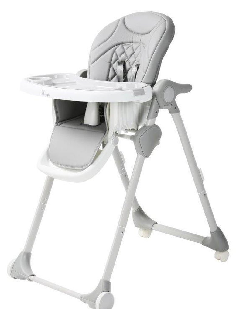 Bo Jungle - B-Krzesełko do karmienia WHEELY Grey