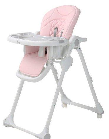 Bo Jungle - B-Krzesełko do karmienia WHEELY Pink