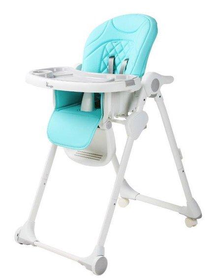 Bo Jungle - B-Krzesełko do karmienia WHEELY Blue mint