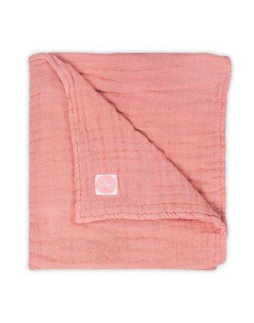 Jollein - Baby & Kids - Jollein - Kocyk muślinowy Hydrophilic 75 x 100 cm Coral Pink