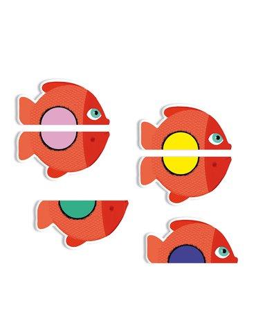 Djeco - Gra karciana dla maluchów puzzle DJ05060