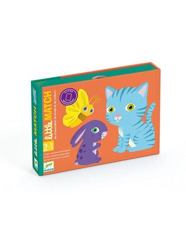 Djeco - Gra karciana dla maluchów Little Match DJ05061