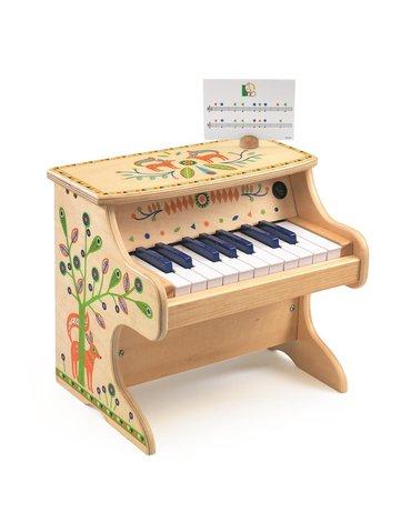 Djeco - Pianino elektroniczne 18 klawiszy  DJ06006