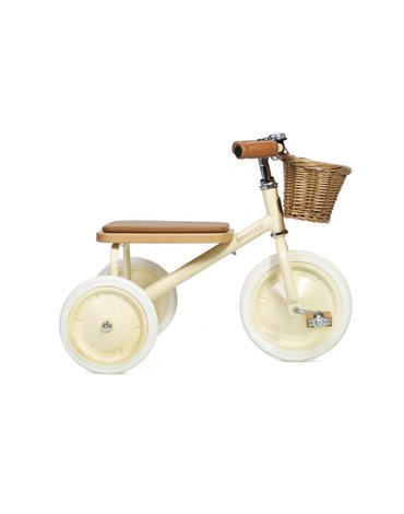 Banwood Rowerek trójkołowy Trike Cream