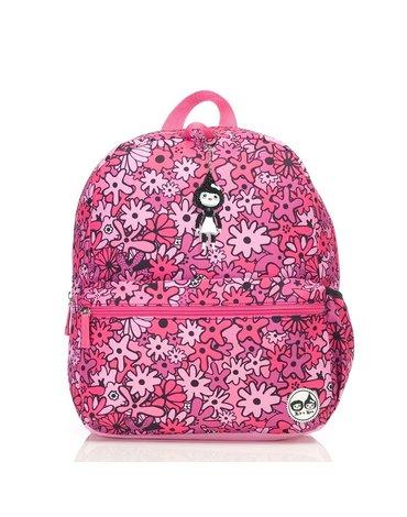 Zip & Zoe Plecak Junior Floral Pink