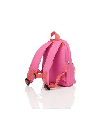 Zip & Zoe Plecak Mini ze Smyczą Pink