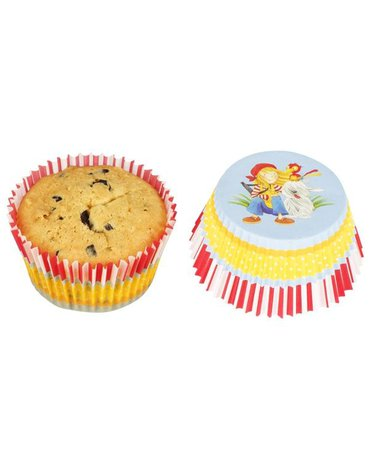 Goki® - Papilotki do muffinek 60 szt.