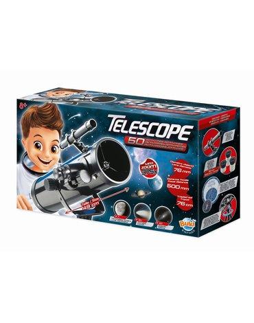 BUKI - Teleskop zwierciadlany - 50 doświadczeń  TS008B