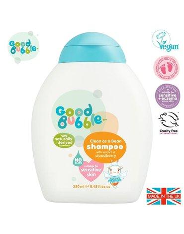 Good Bubble Organiczny szampon wegański dla Noworodka i Niemowlaka Cloudberry 250 ml
