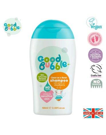 Good Bubble Organiczny szampon wegański dla Noworodka i Niemowlaka Cloudberry 100 ml