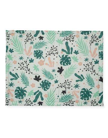 Jollein - Baby & Kids - Jollein - Mata do zabawy i raczkowania 78 x 96 cm Leaves