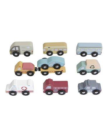 Little Dutch Zestaw 9 pojazdów LD4492