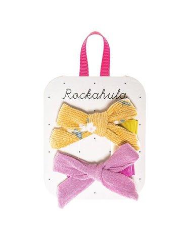 Rockahula Kids - spinki do włosów Florence Tie Ochre
