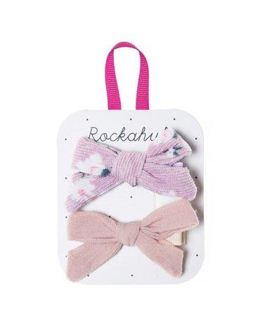 Rockahula Kids - spinki do włosów Florence Tie Heather