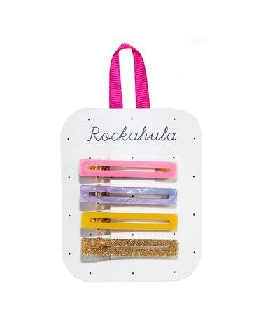 Rockahula Kids - spinki do włosów Retro Bar Rainbow