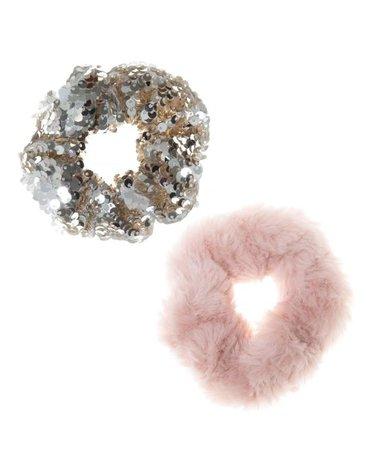 Rockahula Kids - gumki do włosów Shimmer Sequin Scrunchie