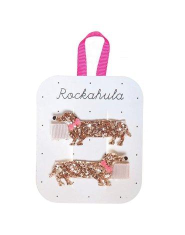 Rockahula Kids - spinki do włosów Morris Sausage Dog