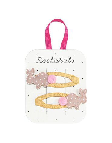 Rockahula Kids - spinki do włosów Hoppy Bunny
