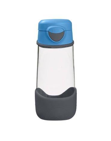 Sportowa butelka tritanowa 450 ml, Blue Slate, b.box