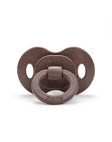 Elodie Details - Smoczek bambusowy 3m+ - Chocolate