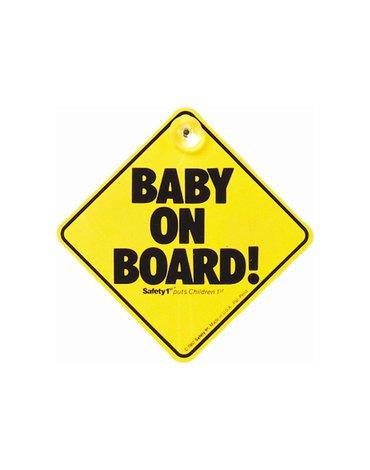 Safety 1st Znaczek Dziecko w samochodzie żółty